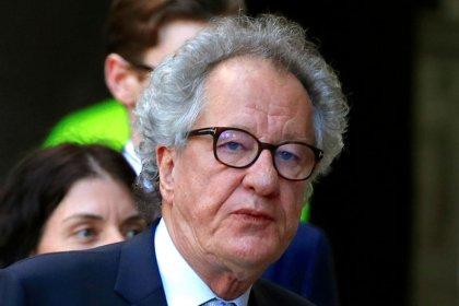 Australian actress accuses Geoffrey Rush of inappropriate behavior