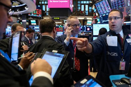 Retailers, health stocks lead Wall Street lower; banks help ease pain