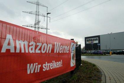 German union calls strike at Amazon warehouses