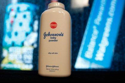 J&J shares extend losses; company defends Baby Powder as safe