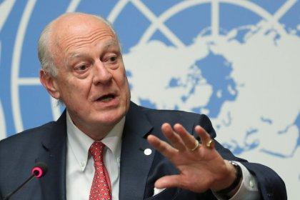 """دي ميستورا: """"ينبغي عمل المزيد"""" لتشكيل اللجنة الدستورية السورية"""