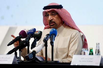 Exclusive: Saudi's Falih says no OPEC+ output policy change until June