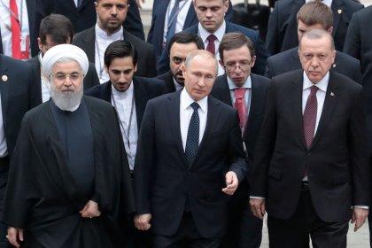 Leaders of Turkey, Russia, Iran set to tackle Syria turmoil