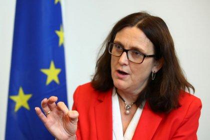 EU seeks plane subsidy deal, but U.S. not talking: bloc's trade chief