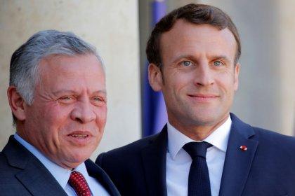 Macron et Abdallah II inquiets des visées territoriales de Netanyahu