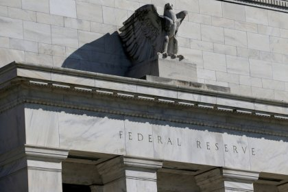 U.S. fed funds rate slips to top-end of Fed's target range
