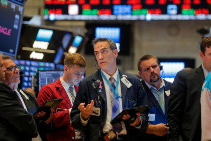 Wall Street falls as trade optimism fizzles