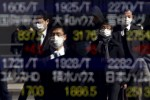 Stocks fall as PMI surveys disappoint, oil gains more than 1%