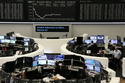 European shares resume gains, pound waits on Supreme Court ruling