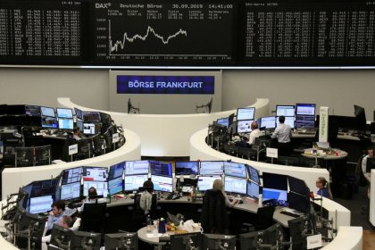 Chip stocks propel gains in Europe, airlines soar