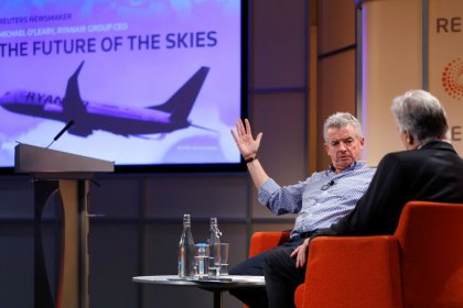 Ryanair to wait for aircraft cycle to turn before placing more orders - O'Leary