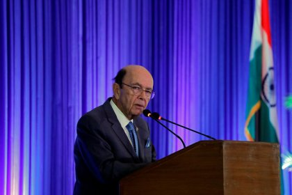 U.S. Commerce Secretary Ross to hold talks in India amid hopes of trade deal