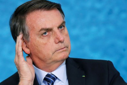 Brazil's Bolsonaro says beach oil slicks could be criminal or shipwreck