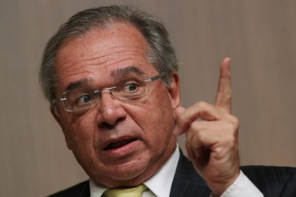 Brazil's economy chief Guedes denies report he will quit