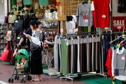 Japan's household spending rises for ninth month, outlook still fragile