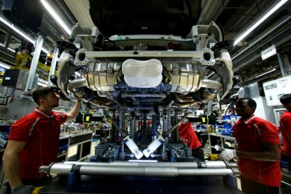 Surprise rise in German output is just 'flash in the pan'