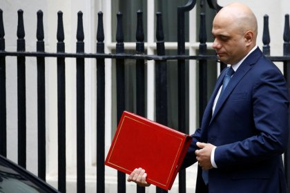 UK's Javid promises parliament chance to scrutinize next BoE governor