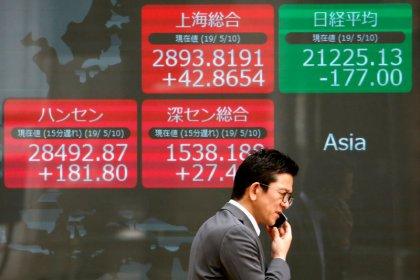 índices da China sobem por expectativa de estímulo