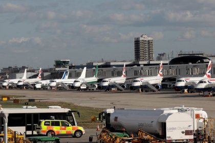 London City Airport braces for possible shutdown by climate protesters