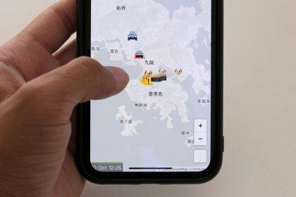"""Apple retira una """"app"""" usada para rastrear a la policía en las protestas de Hong Kong"""