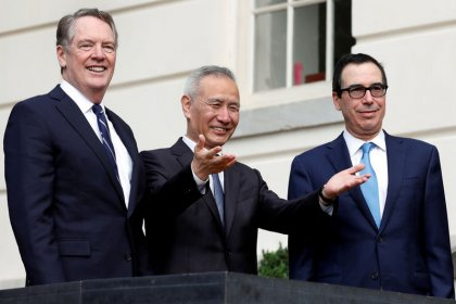U.S., China strike partial trade deal on agricultural purchases, currency
