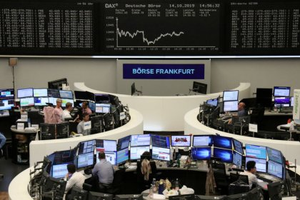 European shares hit two-week high on Brexit deal hopes