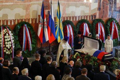 Russia buries cosmonaut Alexei Leonov, first human to walk in space