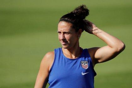 World Cup winner Carli Lloyd keen to try NFL