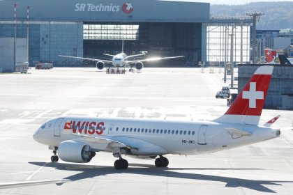 Swiss says Airbus A220 flights resuming as engines pass inspection