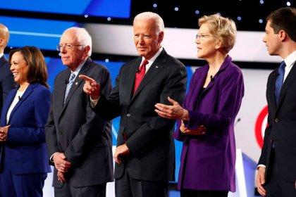 Candidatos democratas dos EUA discutem sobre empresas de tecnologia em debate
