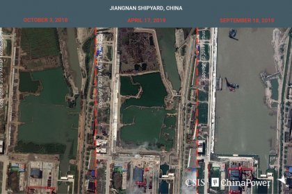 Exclusive: Satellite images reveal China's aircraft carrier 'factory,' analysts say