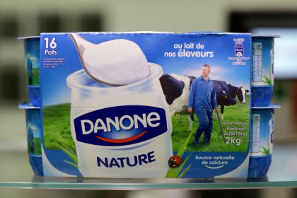 Danone cuts sales outlook after third quarter miss