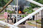 Cartel aterroriza cidade do México e liberta filho de El Chapo