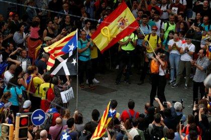 Cientos de miles de personas se dan cita en Barcelona en el quinto día de protestas