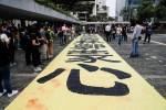 Manifestantes de Hong Kong prometem grande marcha no domingo