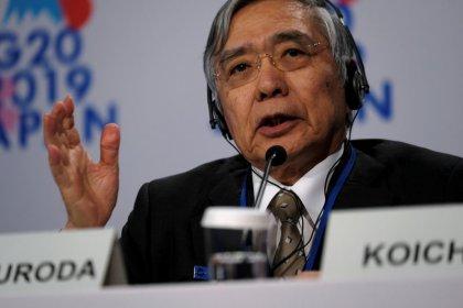كورودا: بنك اليابان المركزي قد يجري المزيد من التيسير للسياسة النقدية
