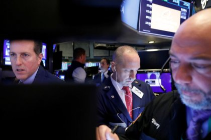 Trade hopes boost Wall Street; tech shares lead gains