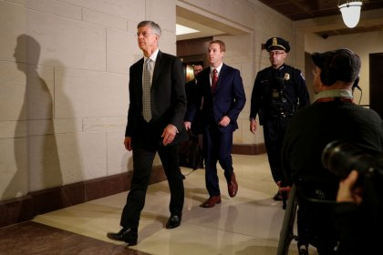 U.S. diplomat testifies Trump tied Ukraine aid to politically motivated probes