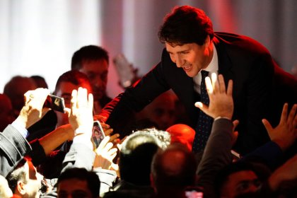Canada's Trudeau keeps the wheel but prepares for left turn