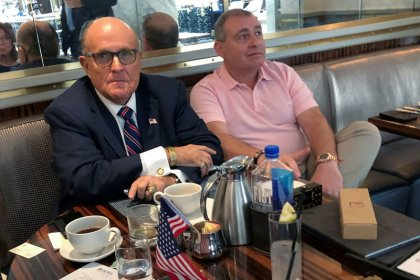 Giuliani associates accused of funneling money to pro-Trump group expected in New York court
