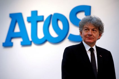 Atos finance chief to step up after CEO Breton's EU candidacy