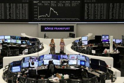 Brewer InBev triggers retreat for European shares