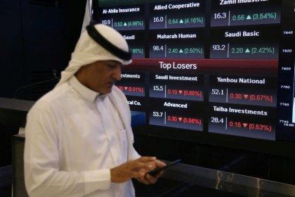 الأسهم السعودية تهبط بسبب البنوك لكن التجاري الدولي يدعم مصر