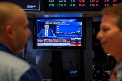 S&P closes at record on Fed bump
