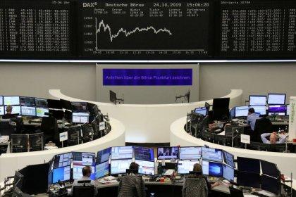 Pandora, Siemens Gamesa push European shares lower