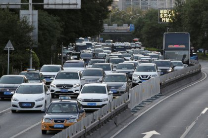 China's NEV market may contract this year due to subsidy cut - industry assoc.