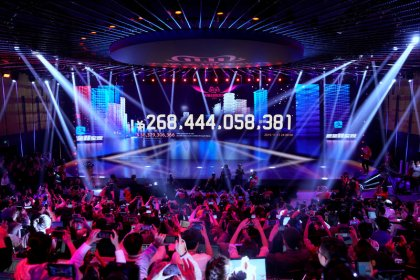 Alibaba's Singles' Day sales hit record $38 billion; growth slows