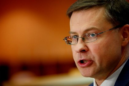 EU Commission to propose bank capital reform by June: Dombrovskis