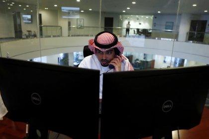 البورصة السعودية تواصل مكاسبها وهبوط أسواق الأسهم الخليجية الأخرى