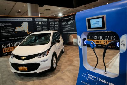 U.S. auto showrooms need more electric cars, environmental group says
